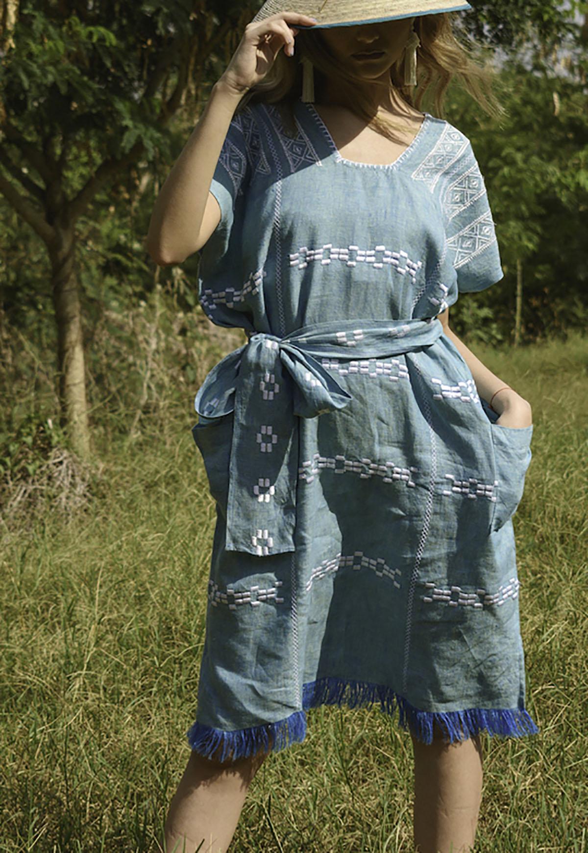 Mini Oaxaca Azul